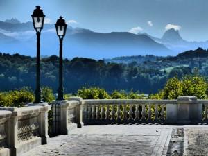 Vue depuis le boulevard des Pyrénées