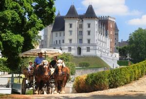 Le château de Pau et son quartier historique